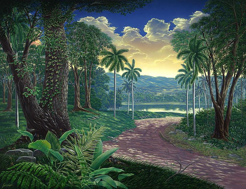 REGRESO AL PARAISO Acrylic 39 x 51